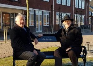 Burgemeester Oldenbroek op bezoek bij Parc de Zwijger